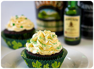 boozy chocolate cupcakes these boozy chocolate cupcakes are a big hit ...