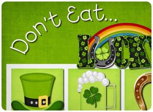 don't eat lucky