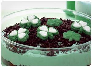 green pudding