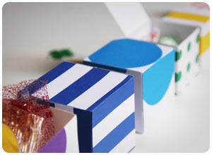 rainbow nesting boxes