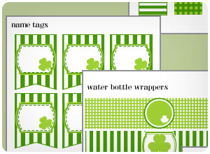 st. patty's day party printables