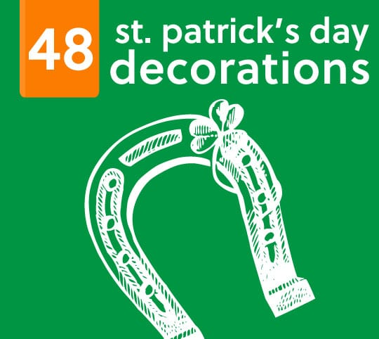 48 St Patricks Day Decorations amp Party Ideas Miss Wiss