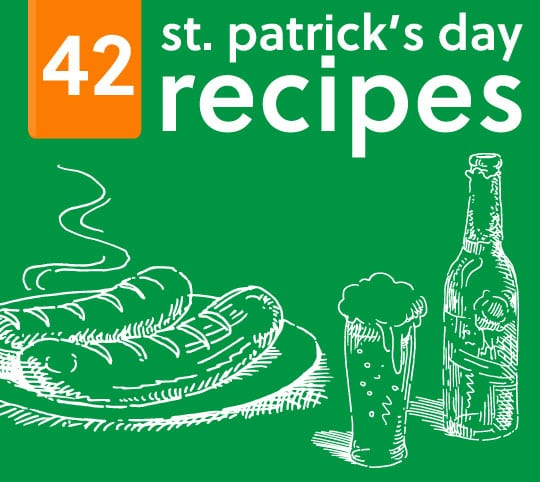 42 St. Patrick's Day Recipes & Drinks- these look delicious!