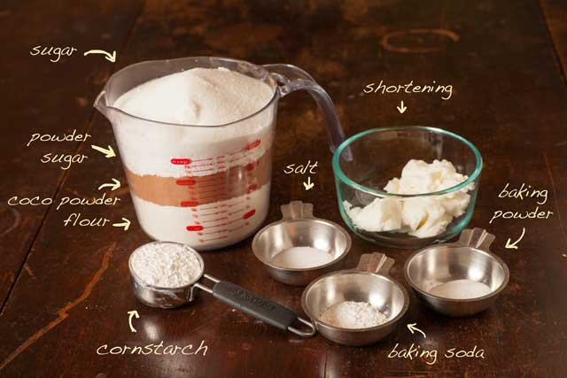 cake in a mug ingredients
