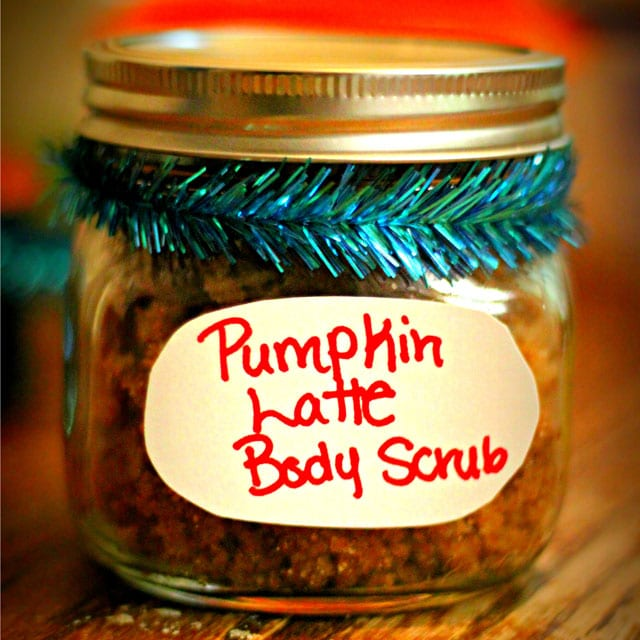 DIY Pumpkin Latte Sugar Scrub- perfect as a gift, or to use yourself :)