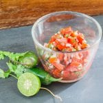 How to Make Simple Homemade Salsa- your taste buds will thank you.