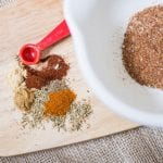 How to Make Homemade Taco Seasoning- this is so easy to make and makes taco meat delicious!
