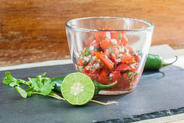 how we make salsa