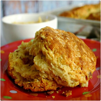 Bacon-Scallion Biscuits