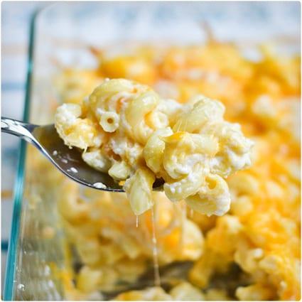 Greek Yogurt Macaroni and Cheese