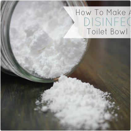 Naturally Disinfecting Toilet Bowl Cleaner