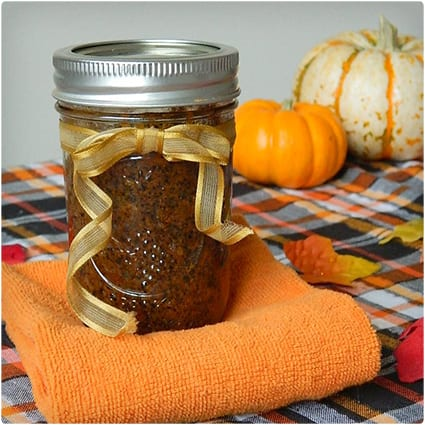 Pumpkin Spice Coffee Body Scrub