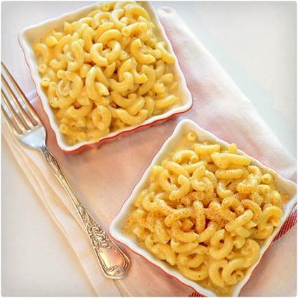 Skinny Macaroni and Cheese