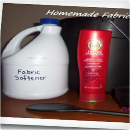 Discount Queens Homemade Fabric Softener