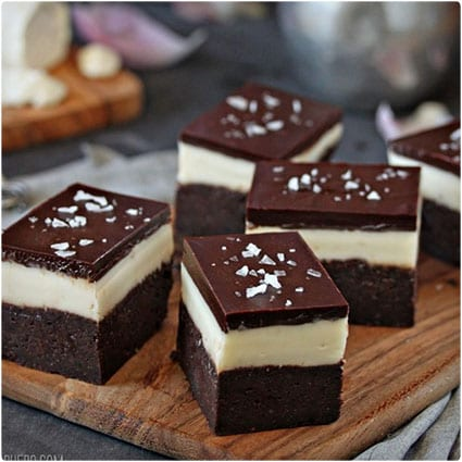 Goat Cheese Brownies