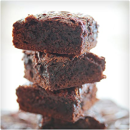 Perfect Fudgy Chocolate & Caramel Brownies