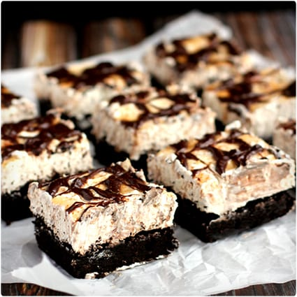 Snickerdoodle Cheesecake Brownie Bars