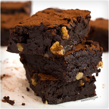 Ultimate Vegan Gluten-Free Brownie