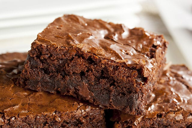 These are the best homemade brownies in the world! I have made around 5 of these and they were fudgy and delicious.