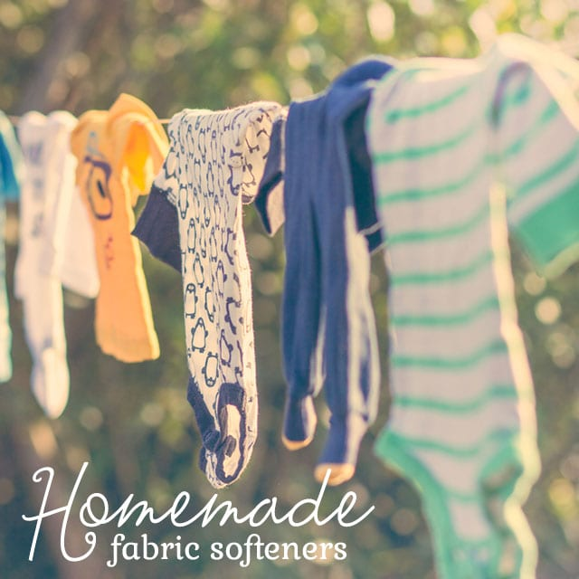 These homemade fabric softeners work better than store-bought cleaners, and they are all-natural!