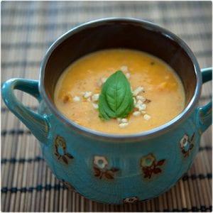 Carrot Rice Flakes Porridge