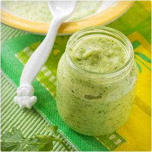 Sauteed Zucchini Puree