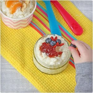 Sugar Free Coconut Rice Pudding