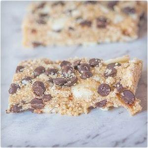 3 Ingredient No Bake Protein Bars