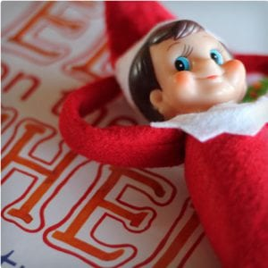 Bendable Elf On The Shelf