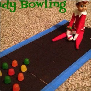 Candy Bowling Elf