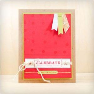Celebrate Holiday Card
