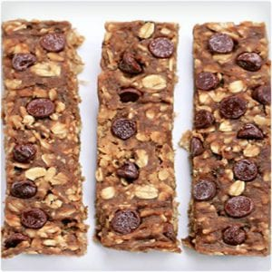 Chocolate Chip Banana Protein Bars