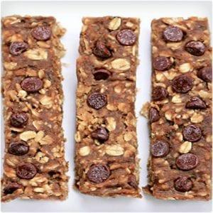 Chocolate Chip Banana Protein Bars