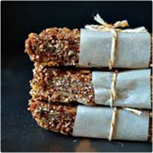 Chocolate Quinoa Snack Bars