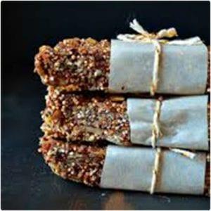 Chocolate Quinoa Snack Bars