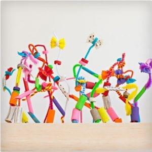 Crazy Pasta Sculptures