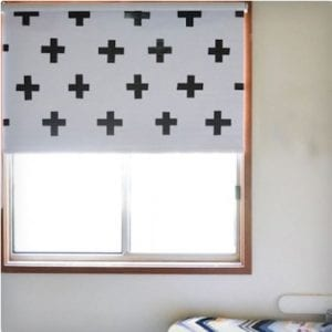 Custom Blinds Using Duct Tape