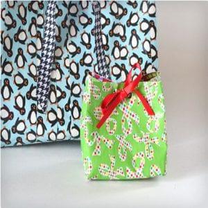 Cute Custom Duct Tape Gift Bags