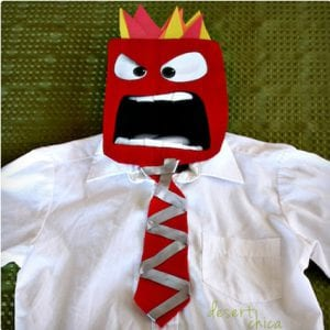 DIY Anger Costume