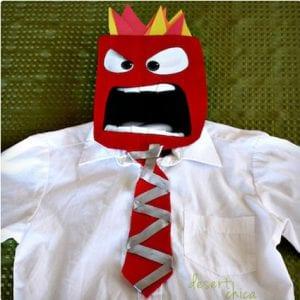 DIY Anger Costume