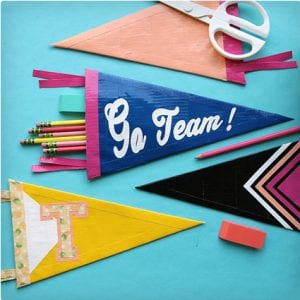 Pennant Pencil Pouch