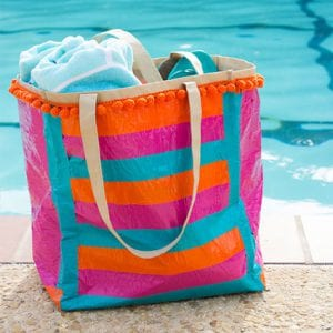 DIY Duct Tape Pool Bag