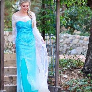 DIY Elsa Dress