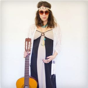 DIY Folk Singer Costume (Adult)
