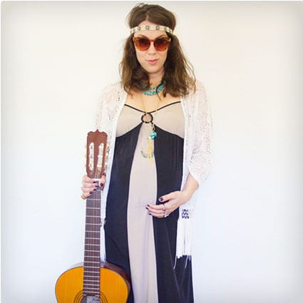 38 genius diy halloween costumes miss wish diy folk singer costume adult solutioingenieria Image collections