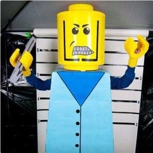DIY Lego People Costume