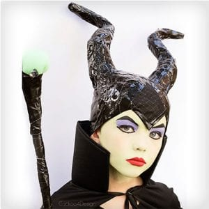 DIY Maleficent Costume (Kid)