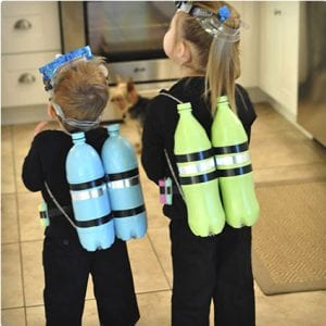 DIY Scuba Diver Costume (Kid)