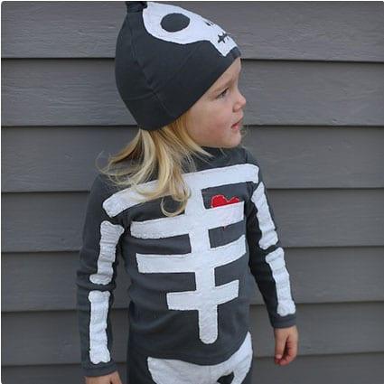DIY Skeleton Costume  sc 1 st  Miss Wish & 38 Genius DIY Halloween Costumes   Miss Wish