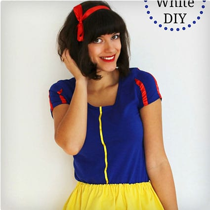 38 genius diy halloween costumes miss wish diy snow white costume adult solutioingenieria Gallery